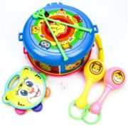 Drum Musical Education Bell Toy Instrument Toy Birthday Presents 1