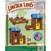 – Horseshoe Hill Station – 83 Pieces – Ages 3+ Preschool Education Toy, INCLUDES 83 PIECES – LINCOLN LOGS Horseshoe Hill Station contains 83 parts and.., By Lincoln Logs 1