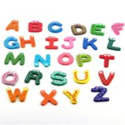 26pcs wooden Alphabet Magnetic Sticker A-Z Magnets Child Educational Toy 6