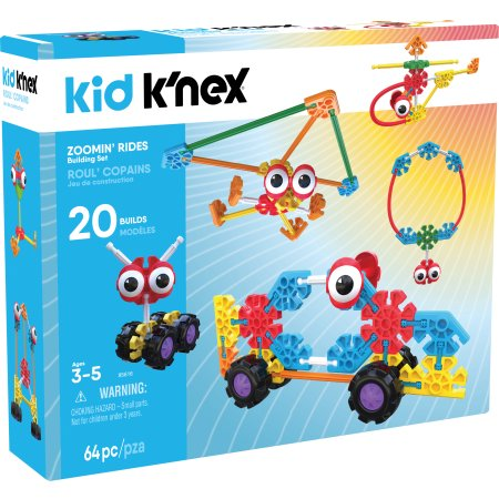 Ages 3 and Up Preschool Educational Toy Budding Builders Building Set 100 Pieces Kid K/'NEX