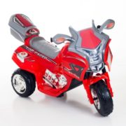Ride on Toy, 3 Wheel Motorcycle Trike for Kids, Battery Powered Ride On Toy by Lil' Rider – Ride on Toys for Boys and Girls, 2 – 5 Year Old – Red 1