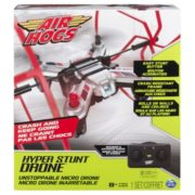 Air Hogs – Hyper Stunt Drone – Unstoppable Micro RC Drone – Red 5