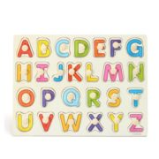 Baby Toys 26pcs Letters Kids Wooden Alphabet Puzzle Child Educational Toy Gift Preschool Learning Toys 7