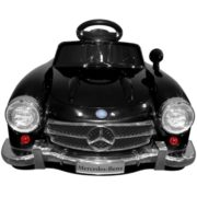 Costway Black MERCEDES BENZ 300SL AMG RC Electric Toy Kids Baby Ride on Car 4