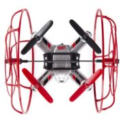Air Hogs – Hyper Stunt Drone – Unstoppable Micro RC Drone – Red 1