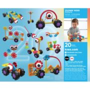 KID K'NEX – Zoomin' Rides Building Set – 65 Pieces – Ages 3 and Up Preschool Educational Toy 1