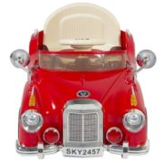 Ride on Car RC Classic Car Remote Control Electric Battery Power – Red 1