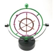 THY COLLECTIBLES Kinetic Art Asteroid – Electronic Perpetual Motion desk toy Home Office Decoration 1