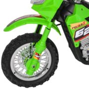 Best Choice Products 6V Electric Kids Ride On Motorcycle Dirt Bike w/ Training Wheels (Green) 3