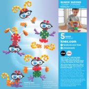 KID K'NEX – Blinkin' Buddies Building Set – 23 Pieces – Ages 3 and Up Preschool Educational Toy 4