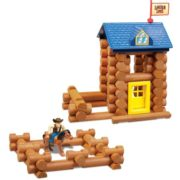 – Horseshoe Hill Station – 83 Pieces – Ages 3+ Preschool Education Toy, INCLUDES 83 PIECES – LINCOLN LOGS Horseshoe Hill Station contains 83 parts and.., By Lincoln Logs 4