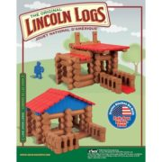– Lake Union Lodge – 88 Pieces – Ages 3+ – Preschool Educational Toy, 88 ASSORTED PIECES – This building set comes with 88 logs and plastic roof pieces…, By Lincoln Logs 1