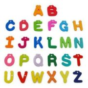 26pcs wooden Alphabet Magnetic Sticker A-Z Magnets Child Educational Toy 1