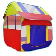 Kiddey Blue Playhouse Tent for Boys  Polyester Nylon Pop Up for Indoor/Outdoor Fun  Promotes Creativity, Imagination, Early Learning  (BALLS AND TUNNEL NOT INCLUDED) By Kiddey 1
