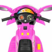 Kids Ride On Motorcycle 6V Toy Battery Powered Electric 3 Wheel Power Bicycle 4
