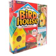 Made by Me Bird House with Wind Chimes Kit by Horizon Group USA 5