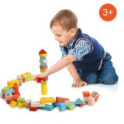 Arshiner Baby 52 PCS Toys,Colorful Wooden Digital Building Learning Block Educational Set Toys 2