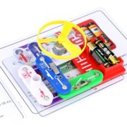 Excelvan Teacher Wang W-39 Snap circuits Electronics Discovery Kit Science Educational Toy 2