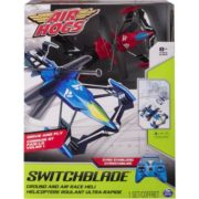 Air Hogs, Switchblade Ground and Air Race RC Heli – Red 1